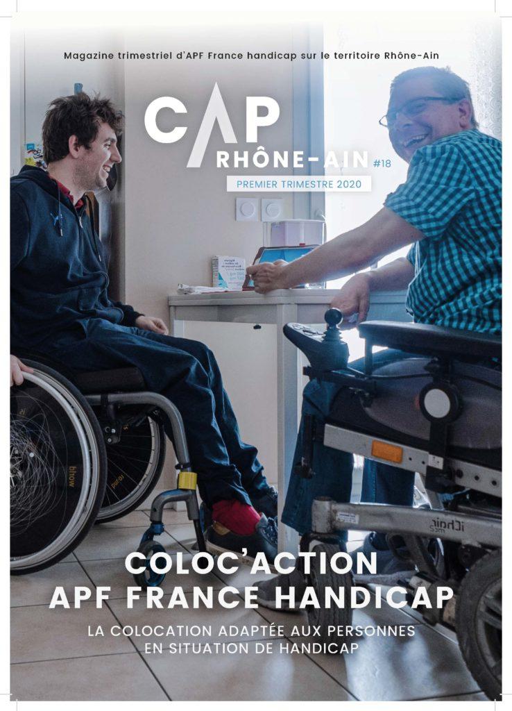 CAP Rhône-Ain n°18 - Colocation solidaire à Villeurbanne - APF France handicap