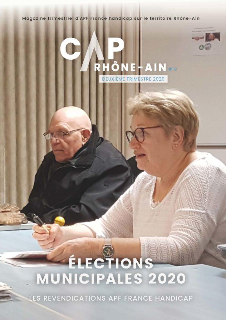 CAP Rhône-Ain n°19 - Elections municipales 2020 - APF France handicap