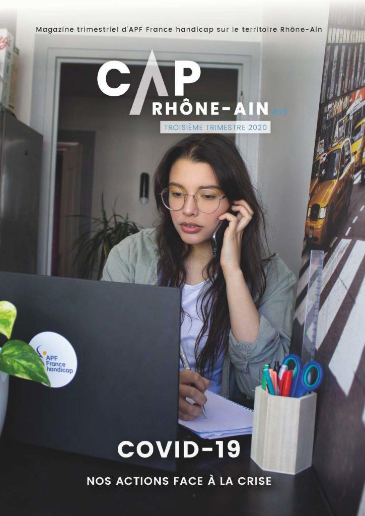 Le magazine APF France handicap Rhône-Ain